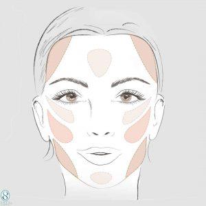 زاویه سازی صورت بدون عمل