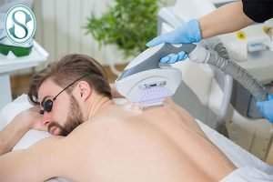 کلینیک ساعی - نمونه لیزر موهای زائد 6