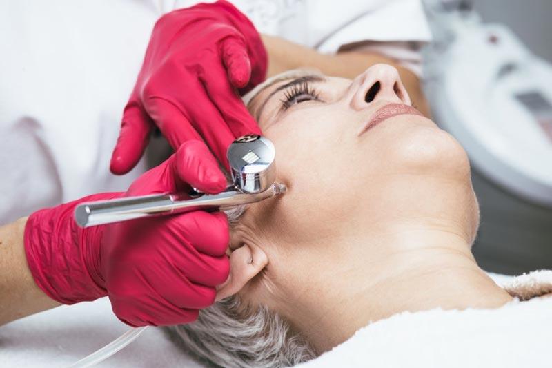 احیاسازی پوست با اکسیژن تراپی
